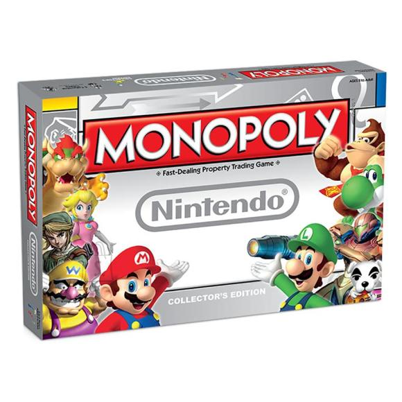 Hasbro lauamäng Monopoly - Nintendo