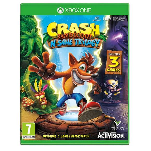 Activision Blizzard Xbox One mäng Crash Bandicoot N. Sane Trilogy