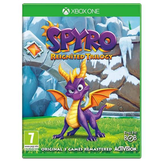 Activision Blizzard Xbox One mäng Spyro Reignited Trilogy