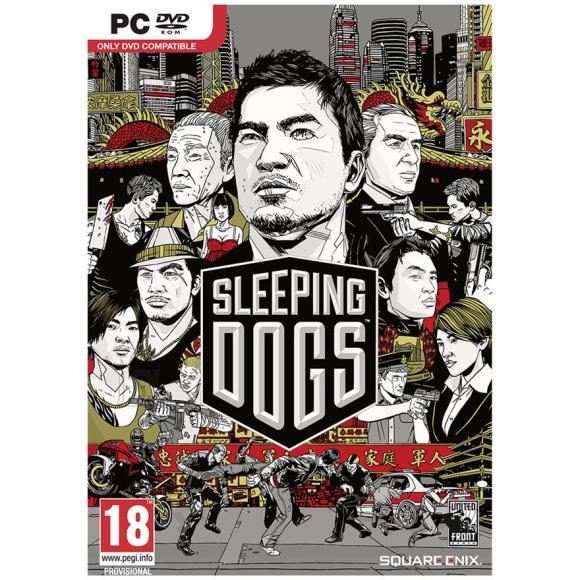 Square Enix arvutimäng Sleeping Dogs