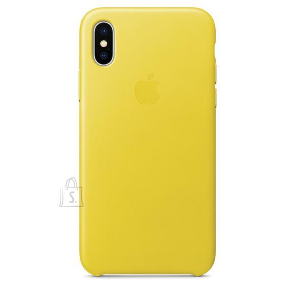 Apple iPhone X nahast ümbris