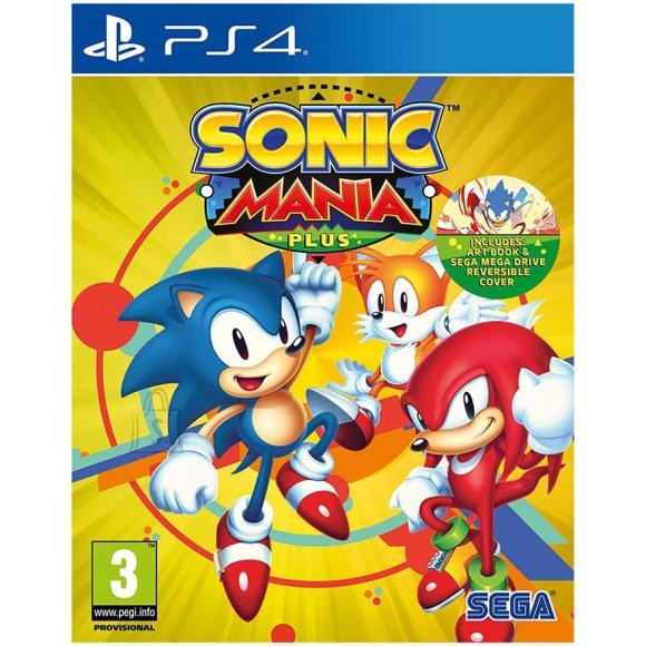 Sega PS4 mäng Sonic Mania Plus