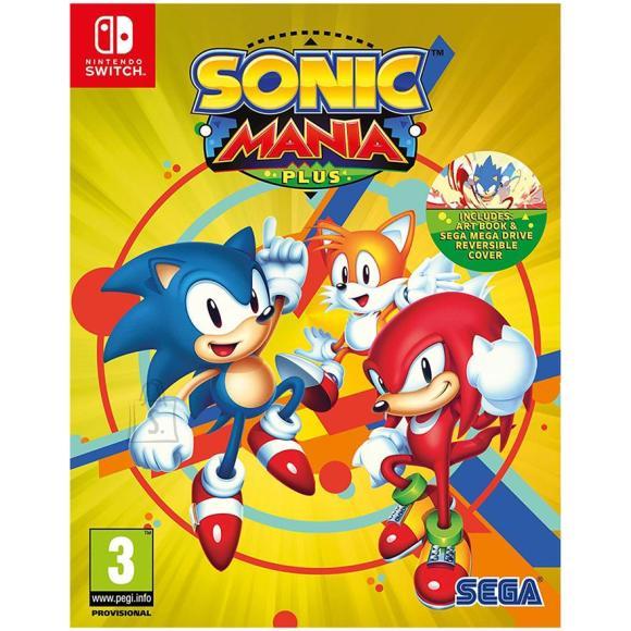 Sega Switch mäng Sonic Mania Plus