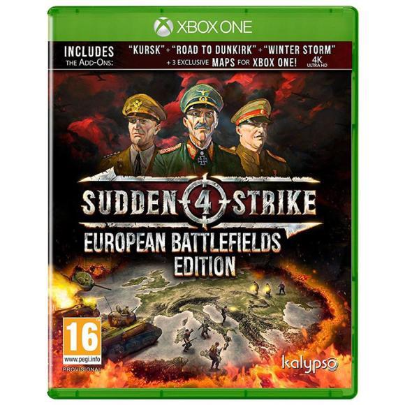 Kalypso Media Digital Xbox One mäng Sudden Strike 4: European Battlefields Edition