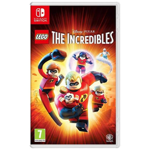 Warner Bros Switch mäng Lego The Incredibles