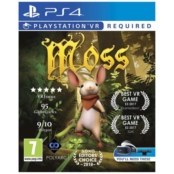 Polyarc PS4 VR mäng Moss