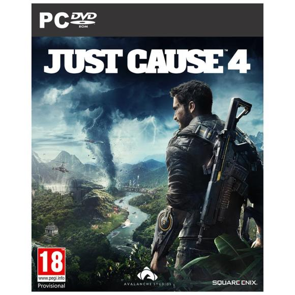 Square Enix arvutimäng Just Cause 4