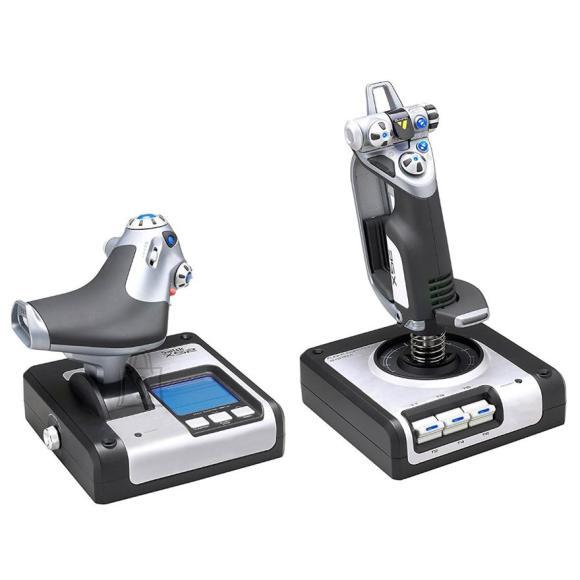 Logitech joystick Saitek X52 Flight System