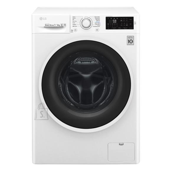 LG kuivatiga pesumasin 1200 p/min