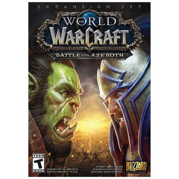 Activision Blizzard arvutimäng World of Warcraft: Battle for Azeroth