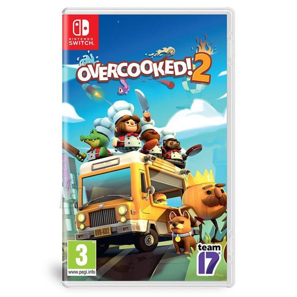 Team17 Digital Ltd Switch mäng Overcooked 2