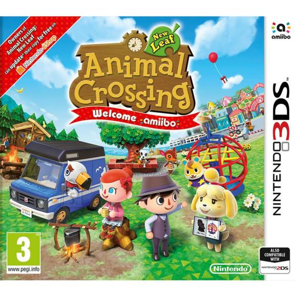 Nintendo 3DS mäng Animal Crossing: New Leaf