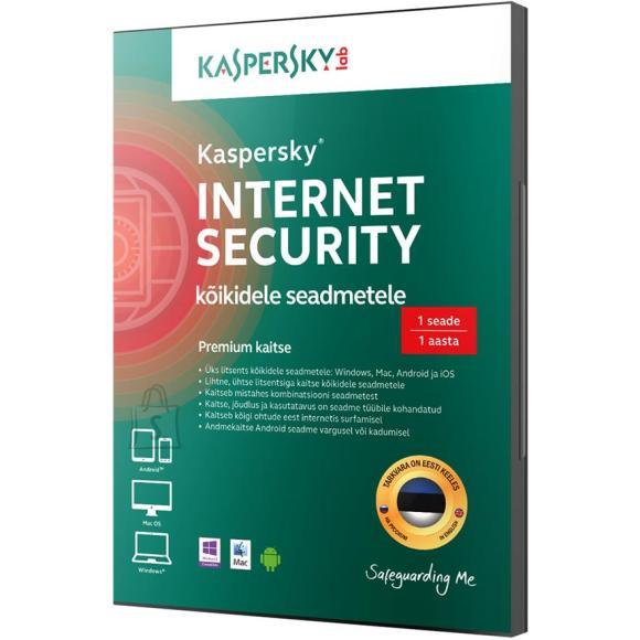 Kaspersky Internet Security 1. arvutile 1a