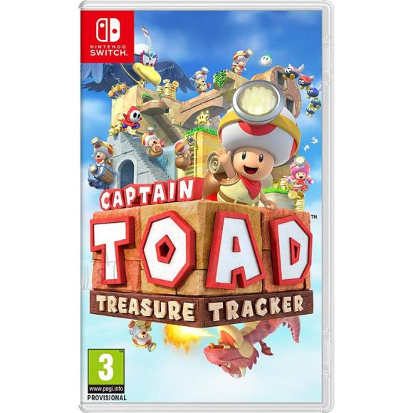 Nintendo Switch mäng Captain Toad: Treasure Tracker