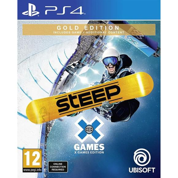 Ubisoft PS4 mäng Steep X Games Gold Edition