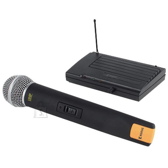 König juhtmevaba mikrofon + saatja