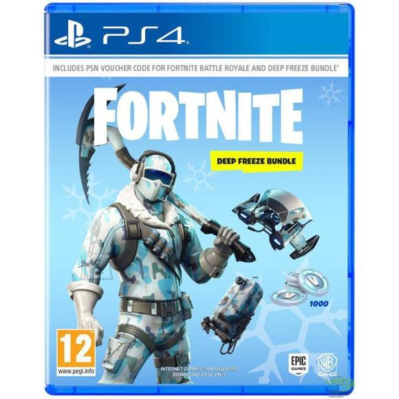 Epic Games PS4 mäng Fortnite Deep Freeze Bundle