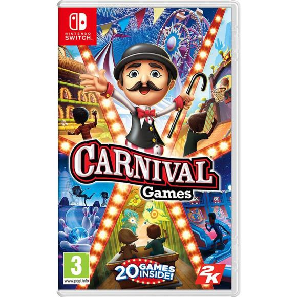 2K Games Switch mäng Carnival Games