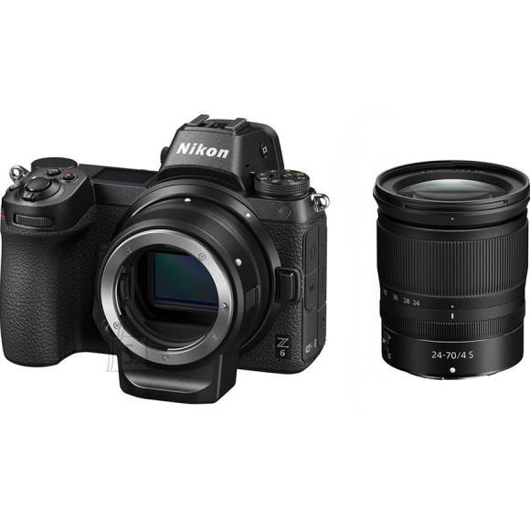 Nikon Fotokaamera Nikon Z6 24-70mm + FTZ komplekt