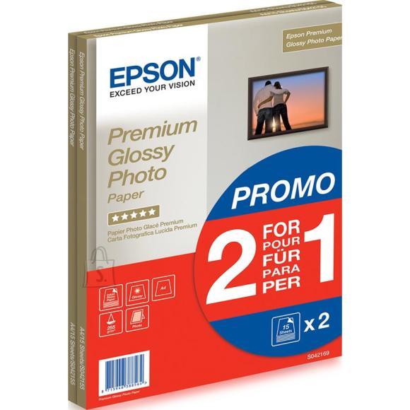 Epson Fotopaber Epson Premium Glossy A4 (255 g/m², 30 lehte)