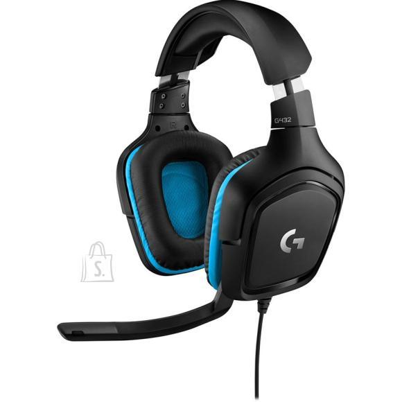 Logitech Mänguri kõrvaklapid G432 7.1