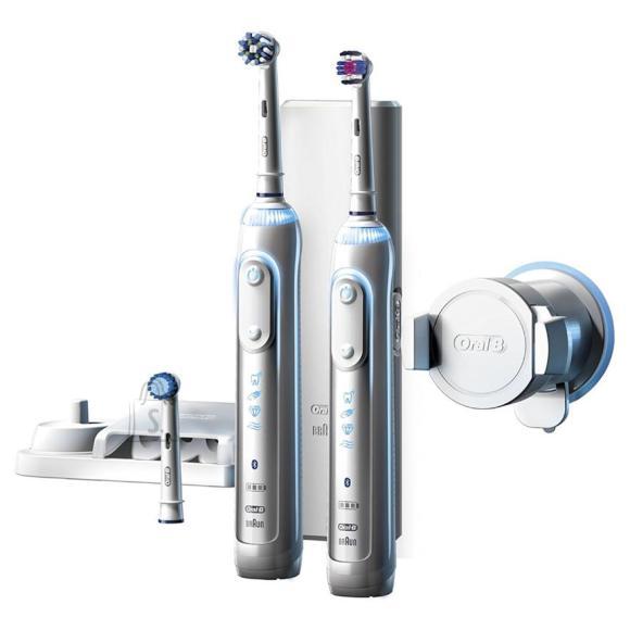 Braun Elektriliste hambaharjade komplekt Braun Oral-B Genius 8900