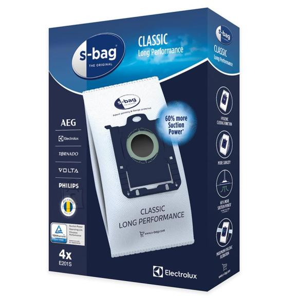 Electrolux Tolmukotid Electrolux  s-bag Classic Long Performance