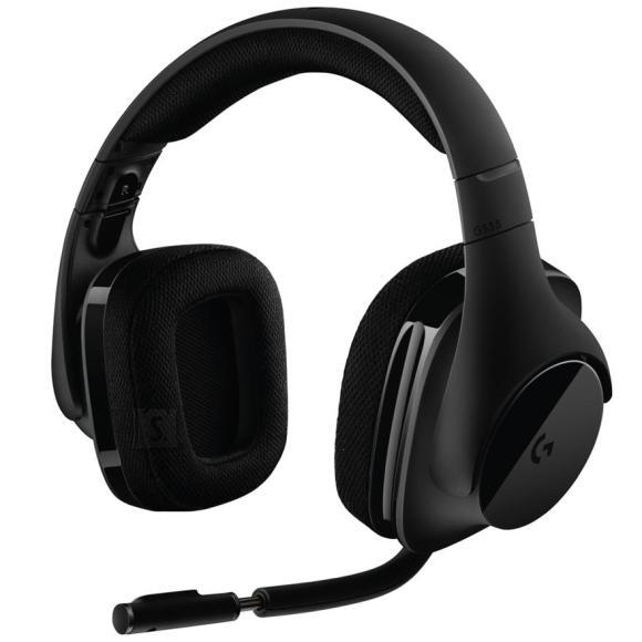 Logitech Juhtmevabad kõrvaklapid G533 7.1