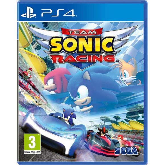 Sega PS4 mäng Team Sonic Racing
