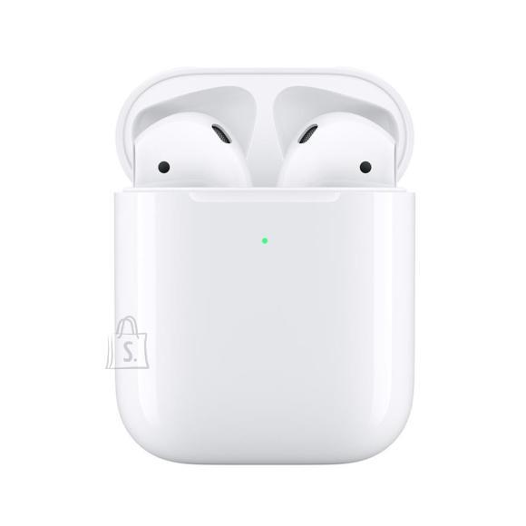 Apple Juhtmevabad kõrvaklapid Apple AirPods 2 + juhtmevaba laadimiskarp