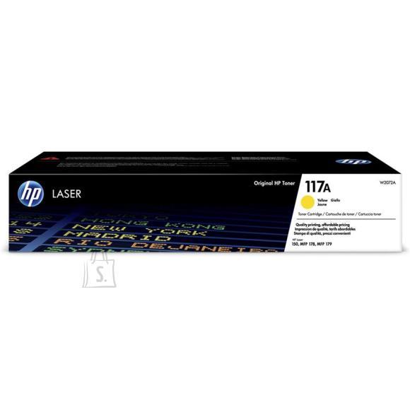 HP Tooner HP 117A (kollane)