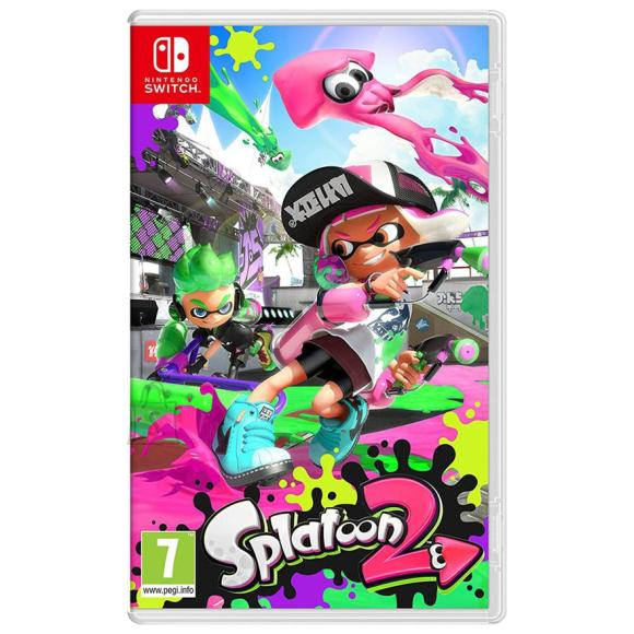 Nintendo Switch mäng Splatoon 2