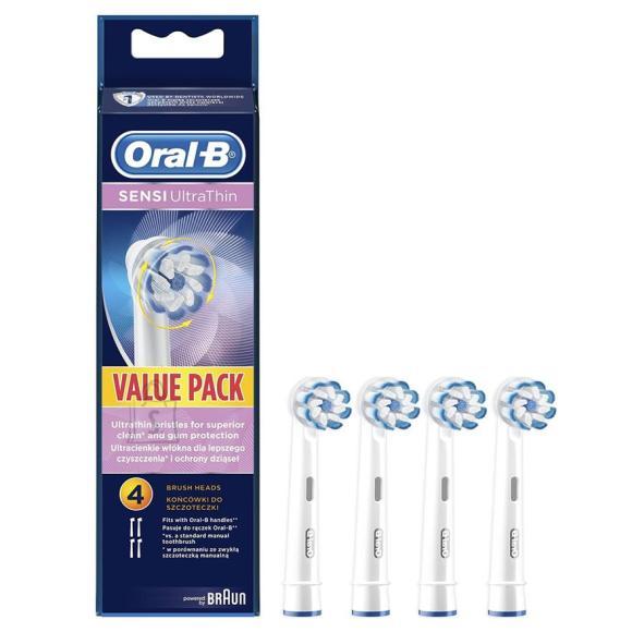 Braun Varuharjad Braun Oral-B Sensi UltraThin 4tk