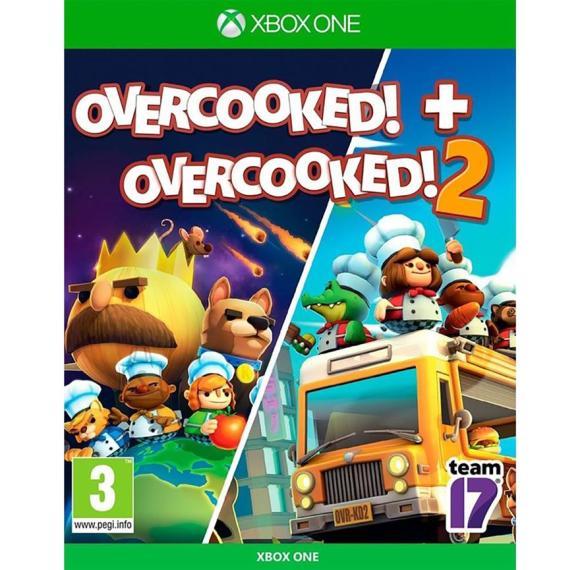 Xbox One mängud Overcooked 1 & 2