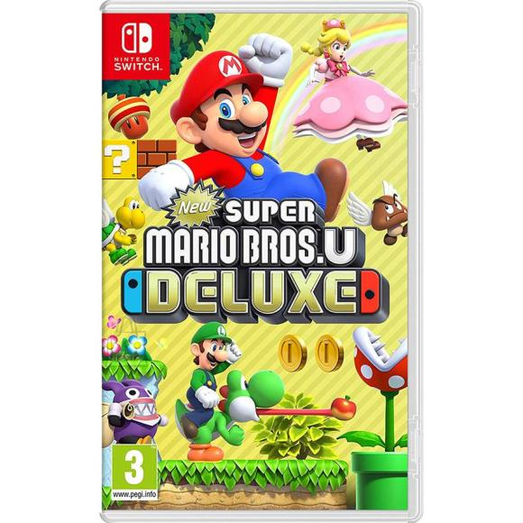 Nintendo Switch mäng New Super Mario Bros. U Deluxe