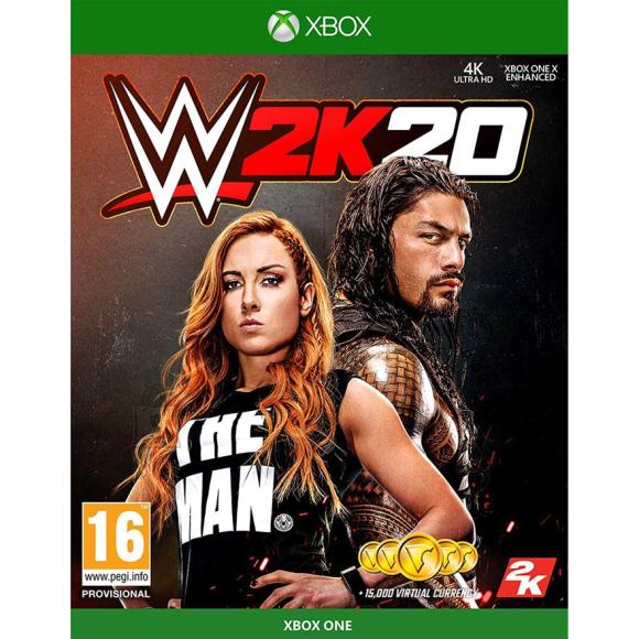 2K Games Xbox One mäng WWE 2K20