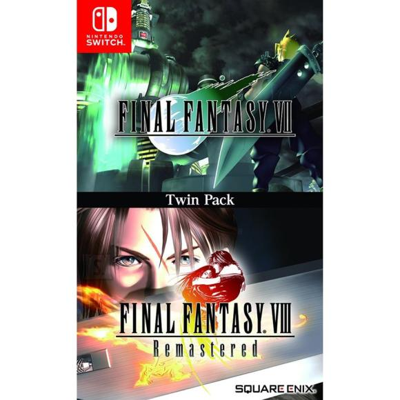 Switch mängud Final Fantasy VII ja VIII