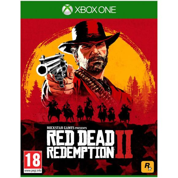 2K Games Xbox One mäng Red Dead Redemption 2