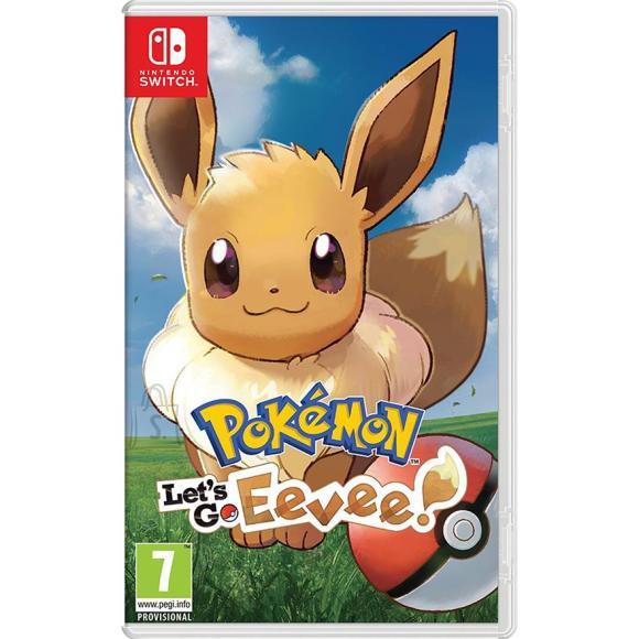 Nintendo Switch mäng Pokémon: Let's Go, Eevee!