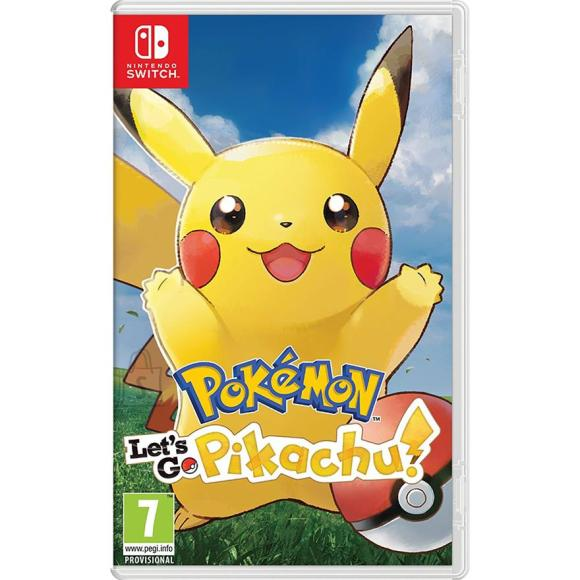 Nintendo Switch mäng Pokémon: Let's Go, Pikachu!