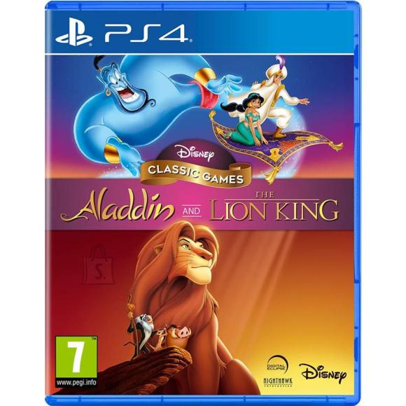 Disney PS4 mängud Aladdin & The Lion King