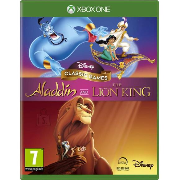 2K Games Xbox One mängud Aladdin & The Lion King