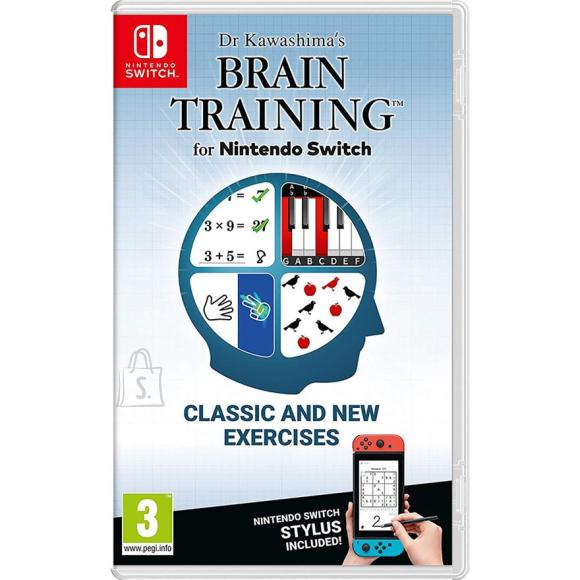 Nintendo Switch mäng Dr. Kawashima's Brain Training