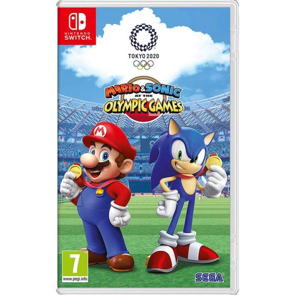 Nintendo Switch mäng Mario & Sonic at the Olympic Games Tokyo 2020