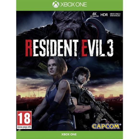 CapCom Xbox One mäng Resident Evil 3
