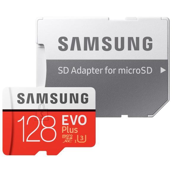 Samsung Micro SDXC mälukaart + adapter Samsung EVO Plus (128 GB)