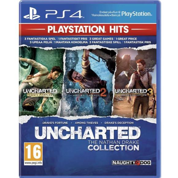 Sony PS4 mäng Uncharted: The Nathan Drake Collection