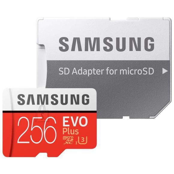 Samsung Micro SDXC mälukaart + adapter Samsung EVO Plus (256 GB)
