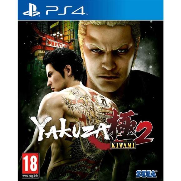 Sega PS4 mäng Yakuza Kiwami 2