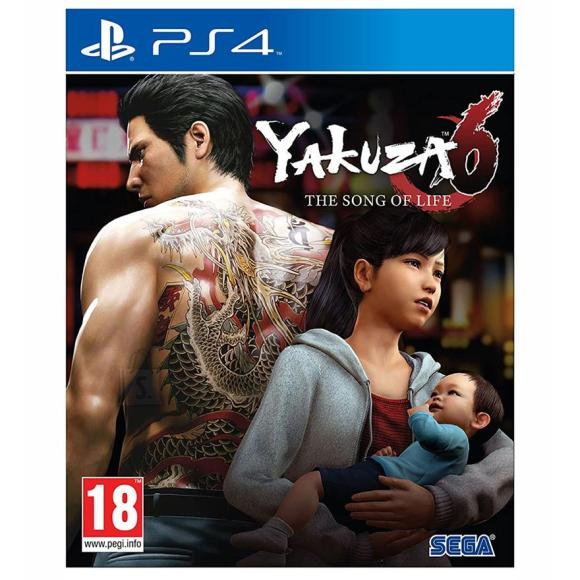 Sega PS4 mäng Yakuza 6: The Song of Life